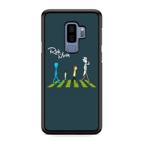 Rick And Morty The Beatles Samsung Galaxy S9 Plus Case