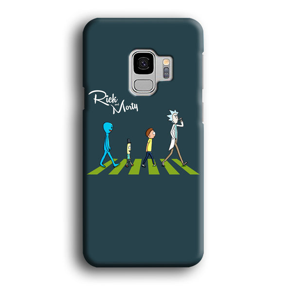 Rick And Morty The Beatles Samsung Galaxy S9 Case