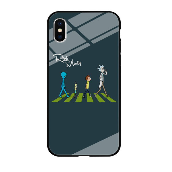 Rick And Morty The Beatles iPhone XS MAX Case