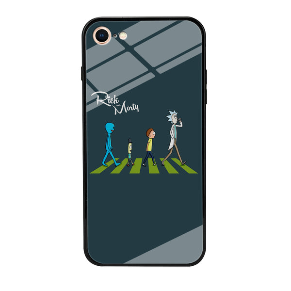 Rick And Morty The Beatles iPhone 7 Case
