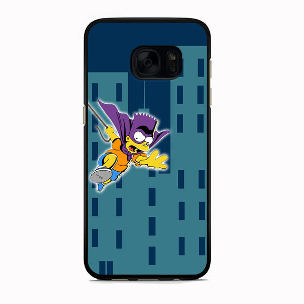 Simpson Fly From Building Samsung Galaxy S7 Edge Case