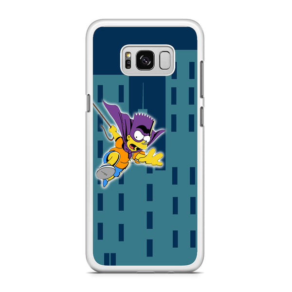 Simpson Fly From Building Samsung Galaxy S8 Plus Case