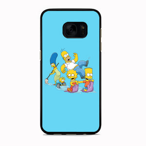 Simpson Happy Family Samsung Galaxy S7 Case