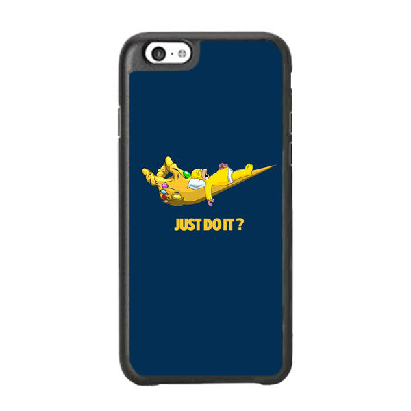 Simpson Homer Sleep In The Hands Of Thanos iPhone 6 Plus | 6s Plus Case