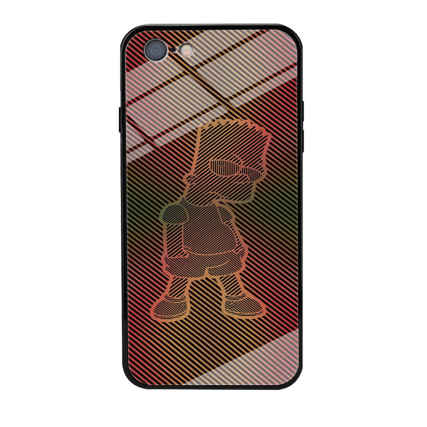 Simpson Stripe Picture iPhone 6 Plus | 6s Plus Case