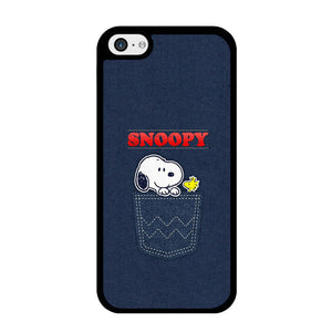 Snoopy And Woodstock In The Pocket Jeans iPhone 5 | 5s Case