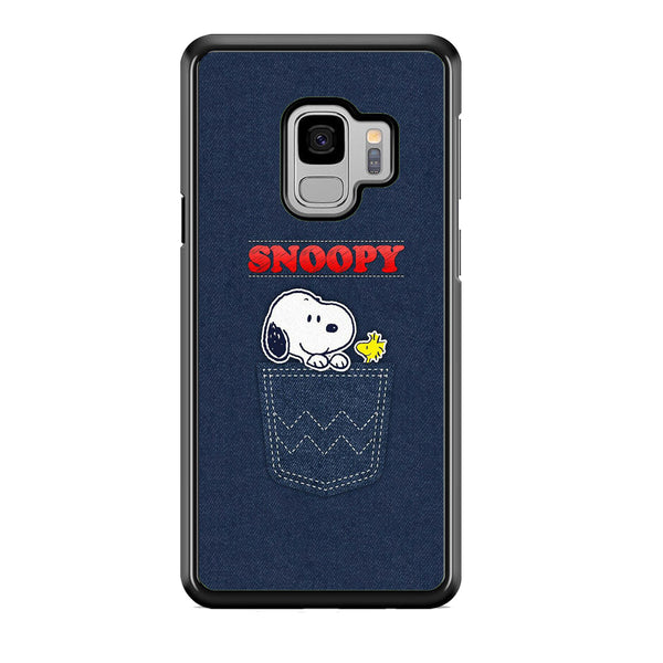 Snoopy And Woodstock In The Pocket Jeans Samsung Galaxy S9 Case