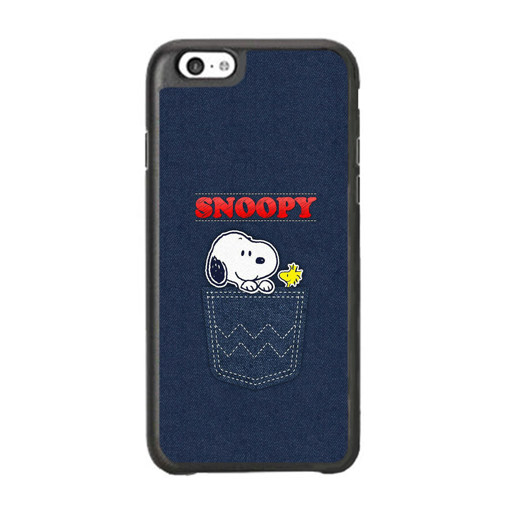 Snoopy And Woodstock In The Pocket Jeans iPhone 6 Plus | 6s Plus Case