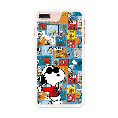 Snoopy Colorful Page iPhone 7 Plus Case