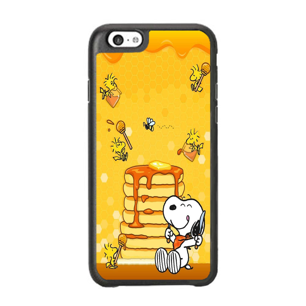Snoopy Like Eat Pancake Hooney iPhone 6 | 6s Case