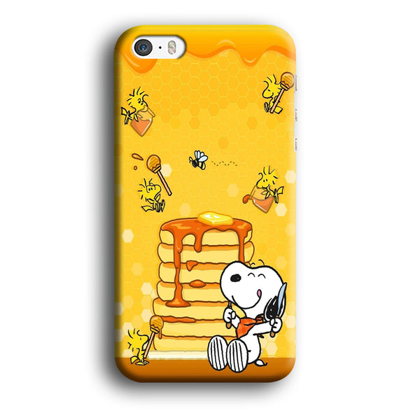 Snoopy Like Eat Pancake Hooney iPhone 5 | 5s Case
