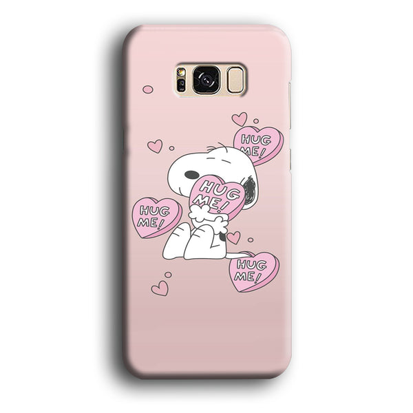 Snoopy Want A Hug Samsung Galaxy S8 Case