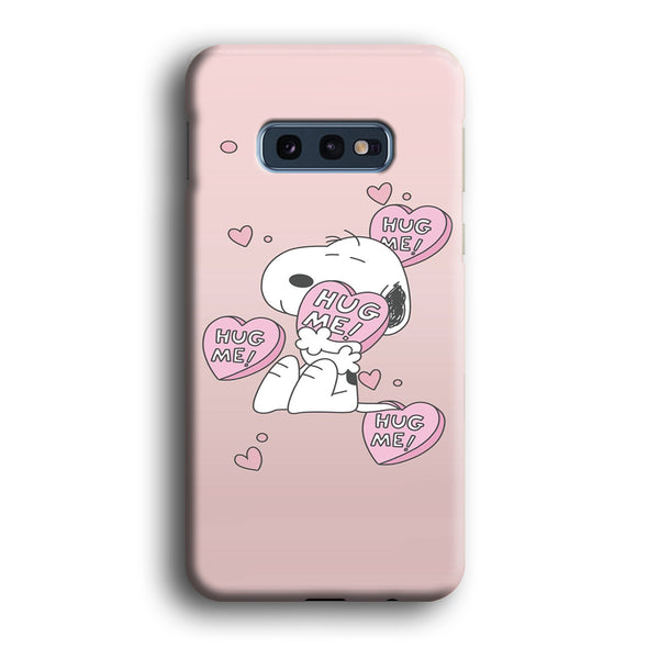 Snoopy Want A Hug Samsung Galaxy S10E Case
