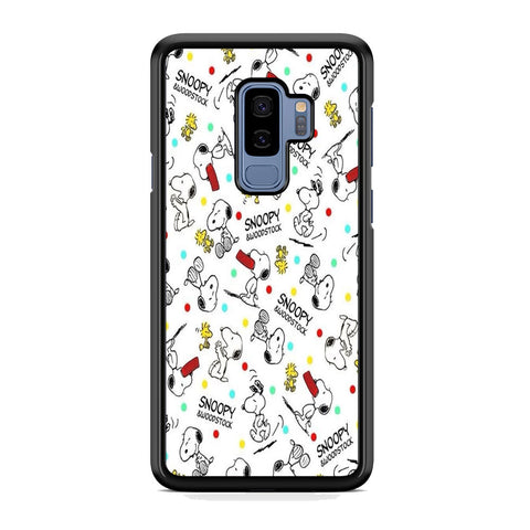 Snoopy and Woodstock Samsung Galaxy S9 Plus Case