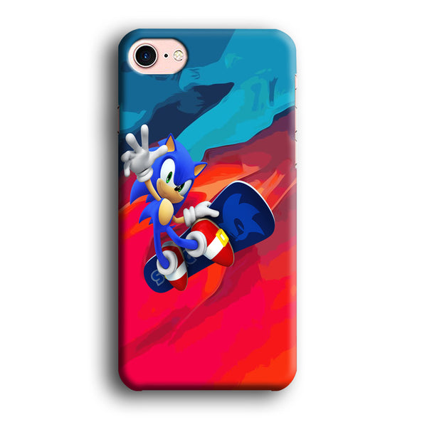 Sonic Flying With Skate iPhone 7 Case