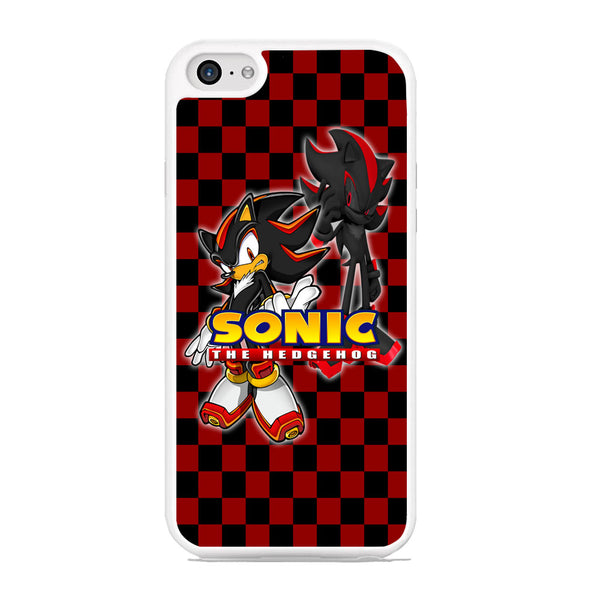 Sonic Hedgehog Red Black iPhone 6 Plus | 6s Plus Case