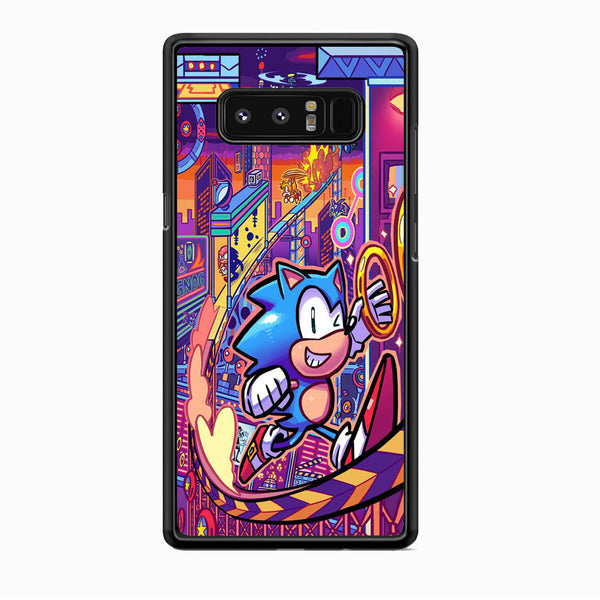Sonic World Wallpaper Samsung Galaxy Note 8 Case
