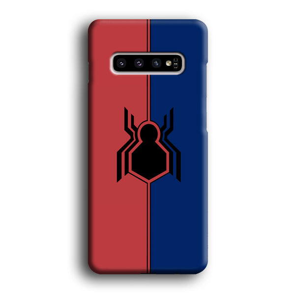 Spiderman Amazing Logo Red And Blue Samsung Galaxy S10 Plus Case