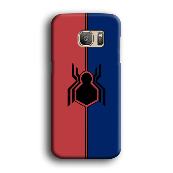 Spiderman Amazing Logo Red And Blue Samsung Galaxy S7 Edge Case