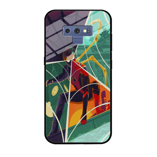 Spiderman Amazing Variation Cartoon Character Samsung Galaxy Note 9 Case