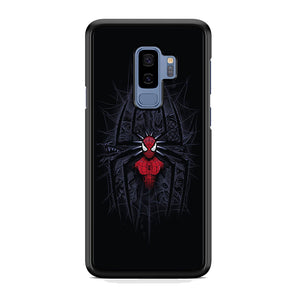 Spiderman Black Logo On The Net Samsung Galaxy S9 Plus Case