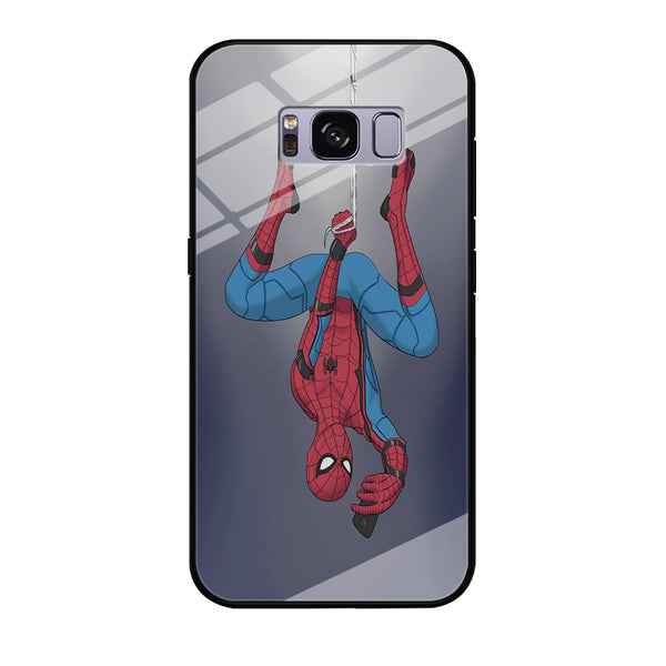 Spiderman Selfie While Hanging Samsung Galaxy S8 Case