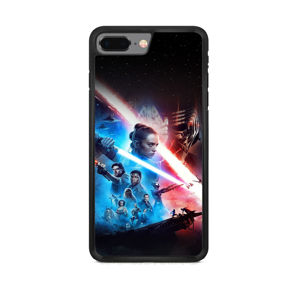 Star Wars The Rise Of Skywalker Poster Iphone 7 Plus Case Carneyforia