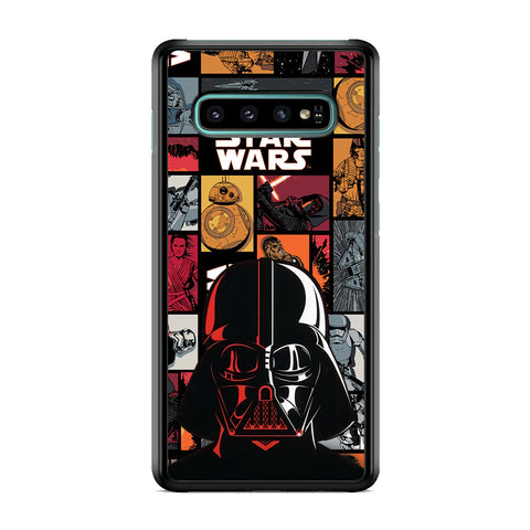 Starwars The Dart Vader Silhouette Samsung Galaxy S10 Plus Case