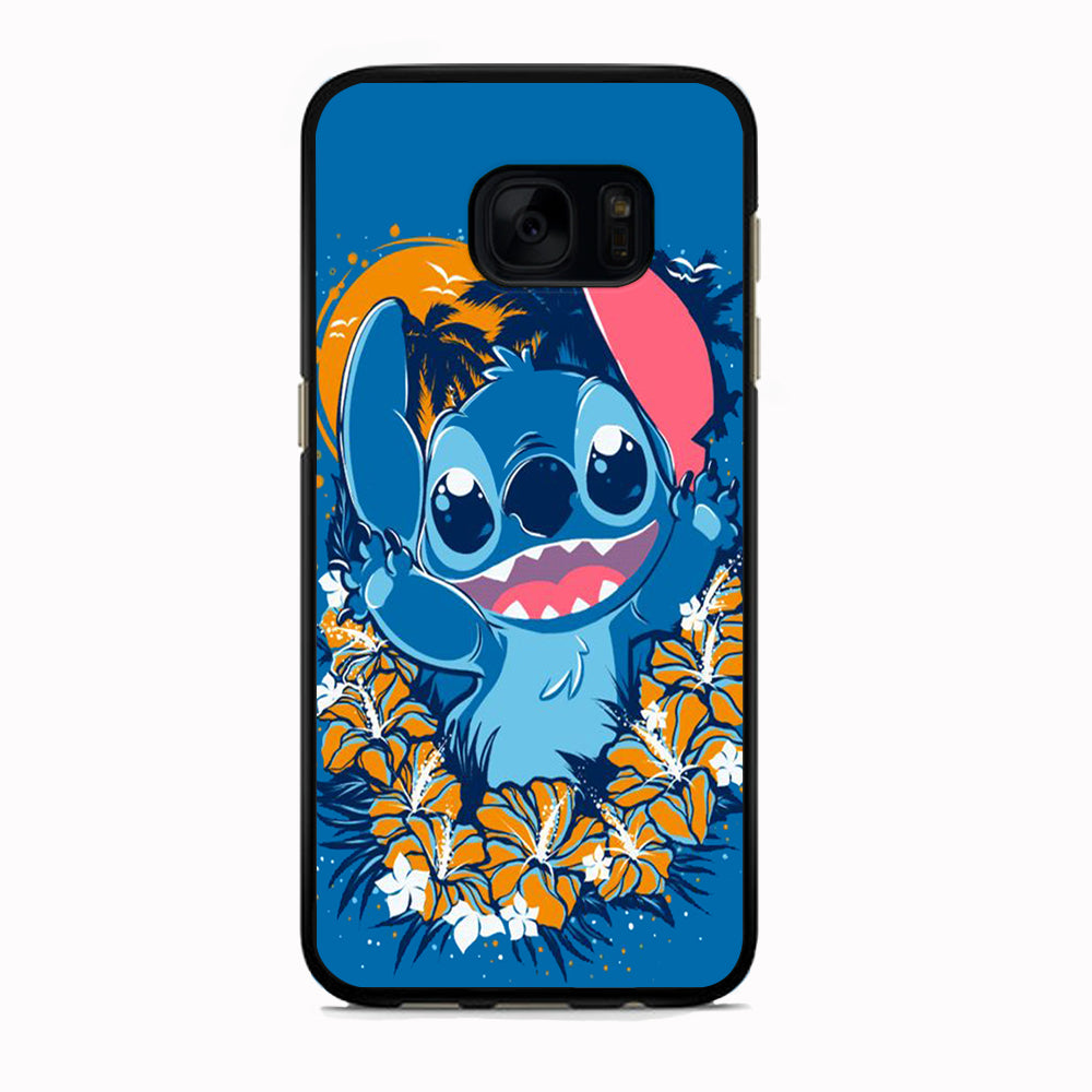 Stitch Blue Wallpaper 2D Black d95b720d f81a 4a2a adc3