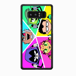 Teen Titans Heroes Family Samsung Galaxy Note 8 Case