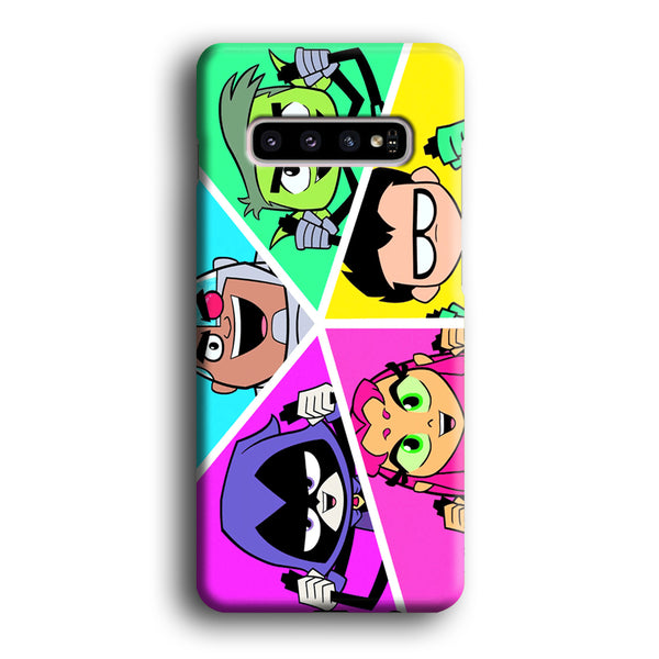 Teen Titans Heroes Family Samsung Galaxy S10 Plus Case