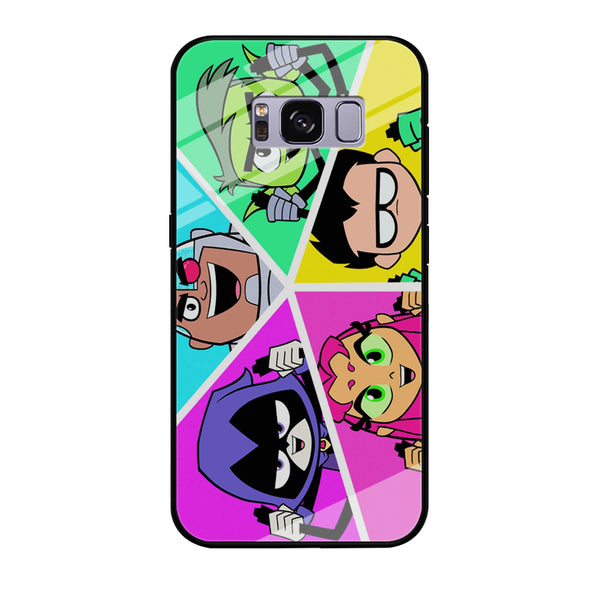 Teen Titans Heroes Family Samsung Galaxy S8 Plus Case