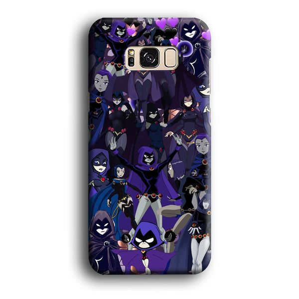 Teen Titans Raven Wallpapers Samsung Galaxy S8 Plus Case