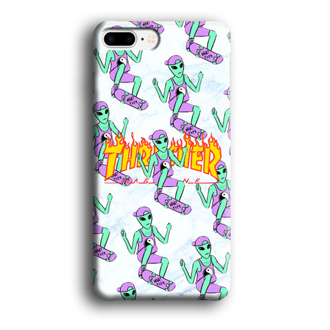 Thrasher Alien Tricks iPhone 7 Plus Case