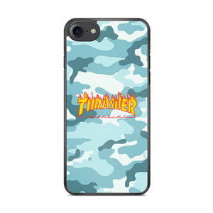 Thrasher Camo Light Blue iPhone 8 Case