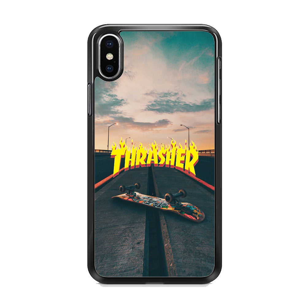 Thrasher Skate View iPhone X Case