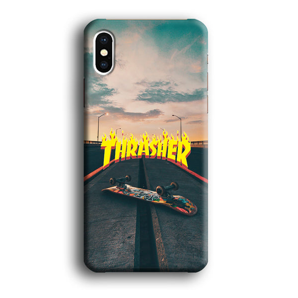 Thrasher Skate View iPhone XS Case