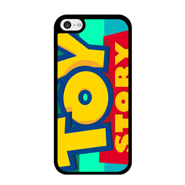 Toy Story Logo 2D Black iPhone 5 | 5s Case