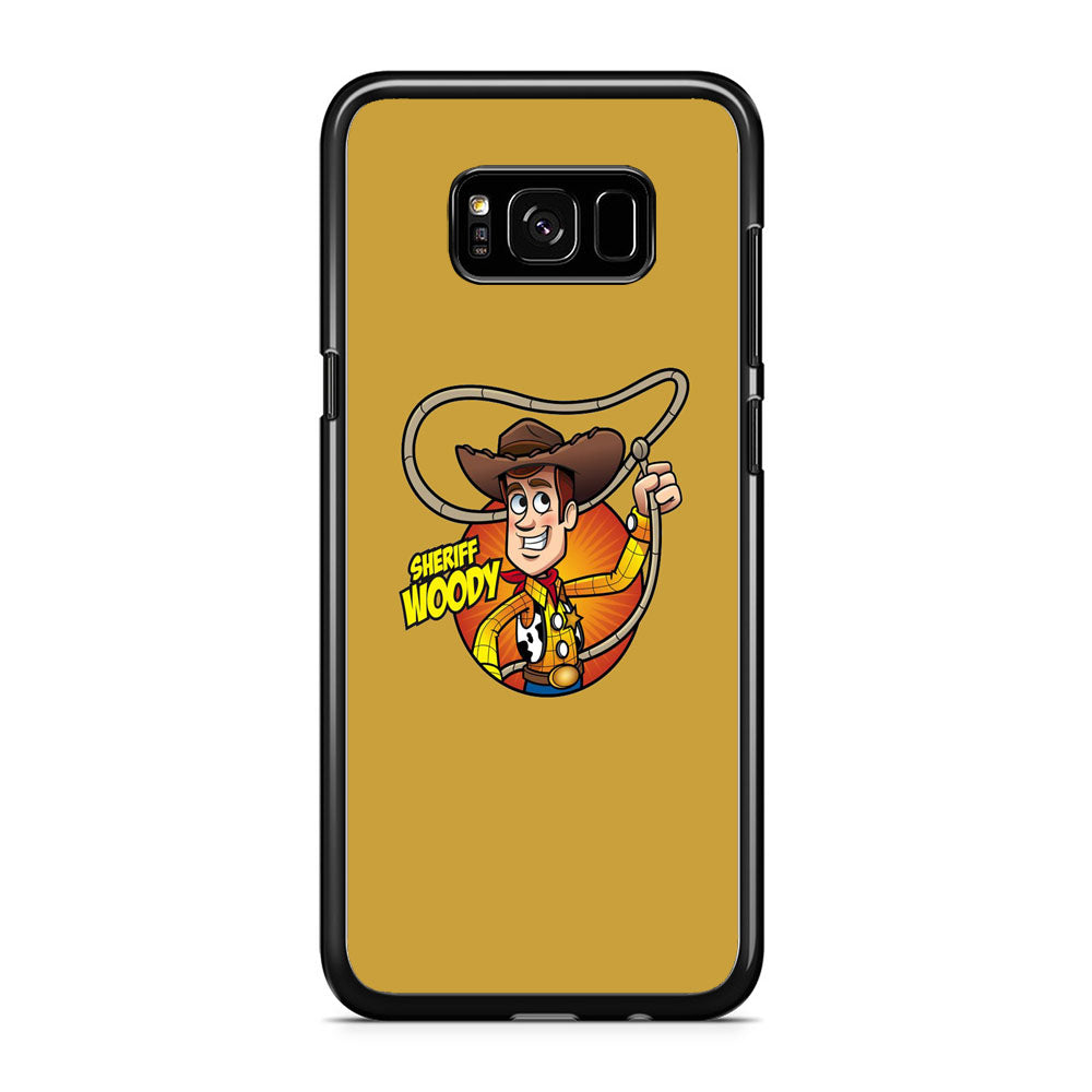 Toy Story Sherif Woody Coboy Style Samsung Galaxy S8 Plus Case