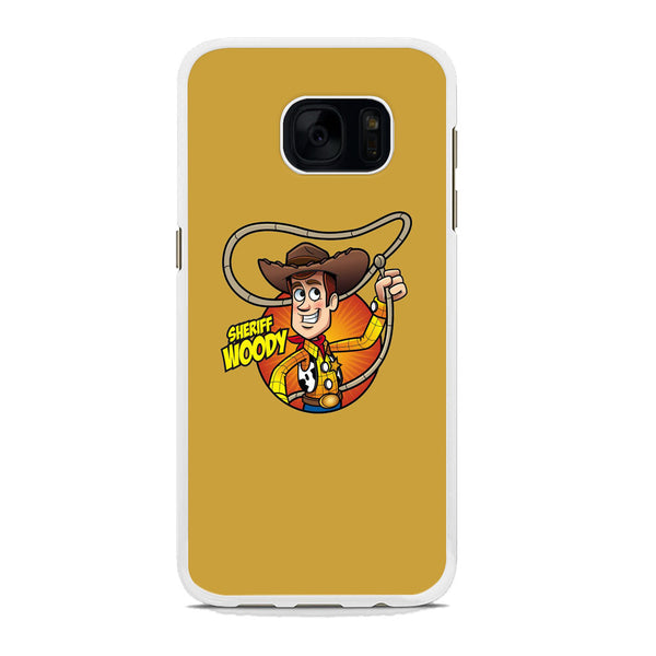 Toy Story Sherif Woody Coboy Style Samsung Galaxy S7 Edge Case