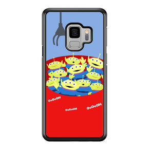 Toy Strory Geen Alien Happy With Claw Toy Samsung Galaxy S9 Case