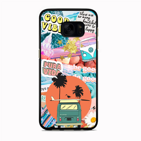 Vacation to The Beach Samsung Galaxy S7 Edge Case
