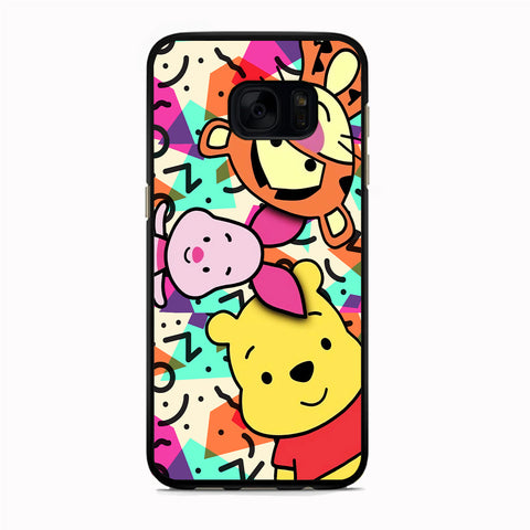 Winnie The Pooh Lifetime Comrade Samsung Galaxy S7 Edge Case