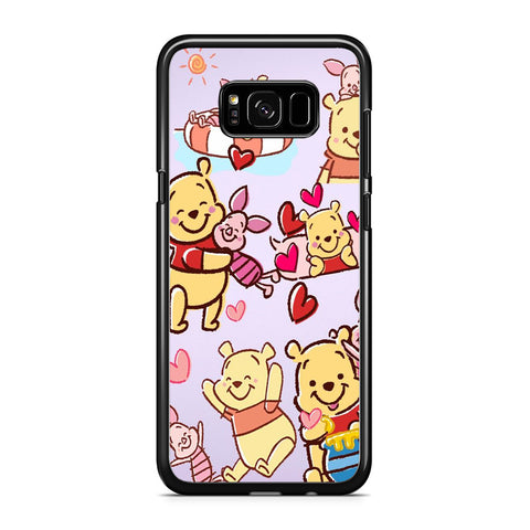 Winnie The Pooh With Piglet Cute Samsung Galaxy S8 Plus Case