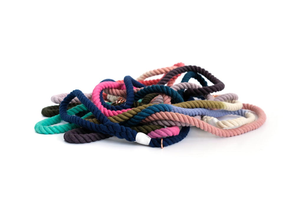 Introducing the Cakki Cotton Rope Leashes