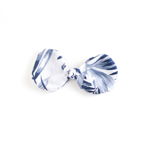 Summer Blues Knot Bow