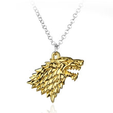 Charger l'image dans la galerie, Collier Game of Thrones Stark