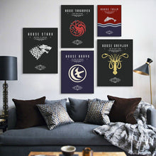 Charger l'image dans la galerie, Poster Game of Thrones (GOT)