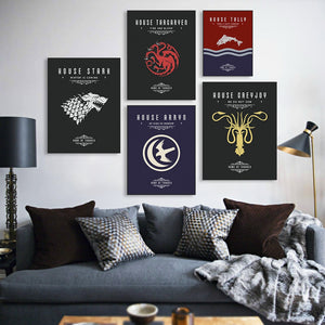 Poster Game of Thrones (GOT)