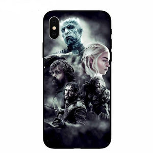 Coque iPhone Game of Thrones La Longue Nuit